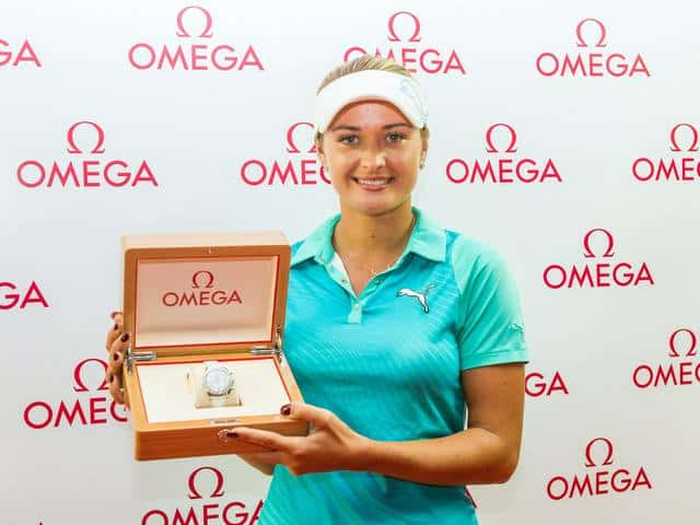 Amy Boulden Omega Watch