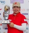 Shanshan Feng ODLM trophy