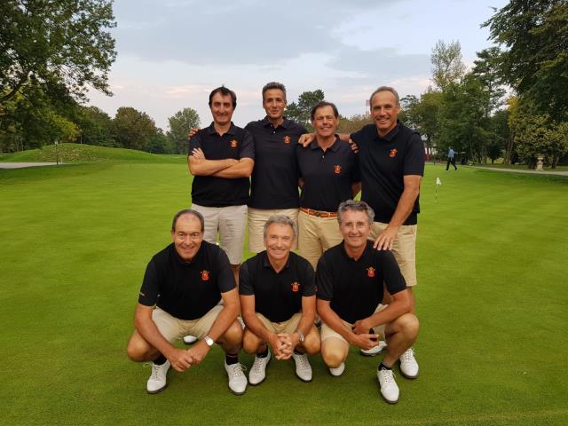 Equipo Español Masculino, Álvaro Llanza, Manuel Caballal, Ángel Sartorius, Andrea Braatz, Jorge García Comín, Alejandro Lafarga