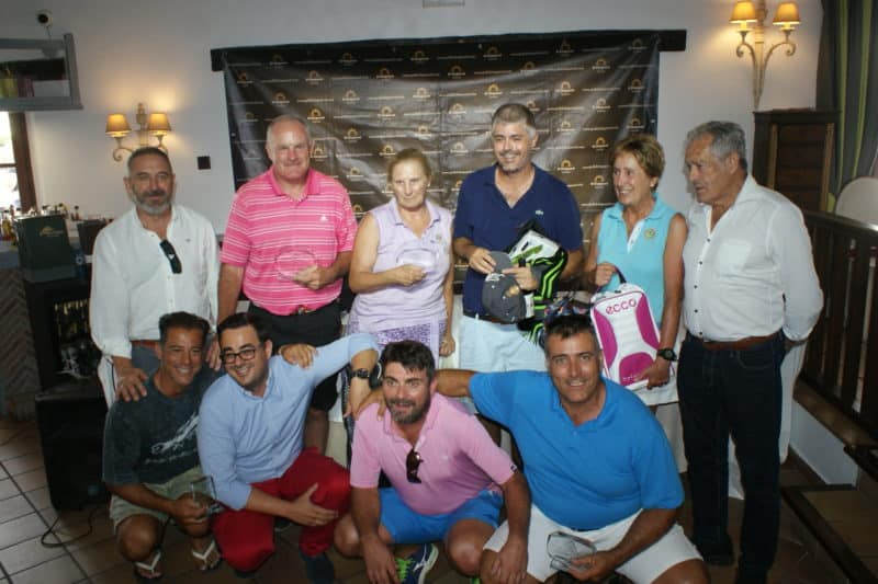 Cristian Farr Chaparral Golf Club aniversario