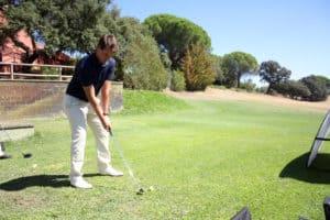Victor entrenando_Real Club de Campo