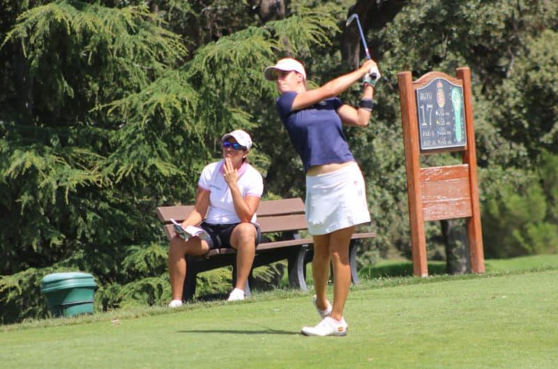Marta Sanz Jugadora de golf profesional RACE